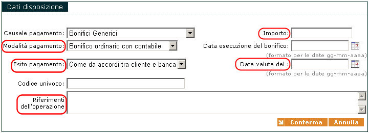 Contabile di un bonifico online dating 6